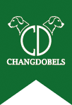 Changdobels dog center logo