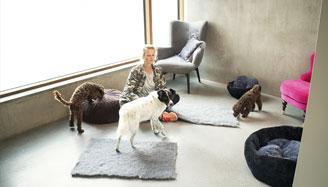 Gärdet hunddagis, changdobels | Ombonade rum